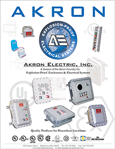 Akron Electric Explosion-Proof Enclosure Catalog